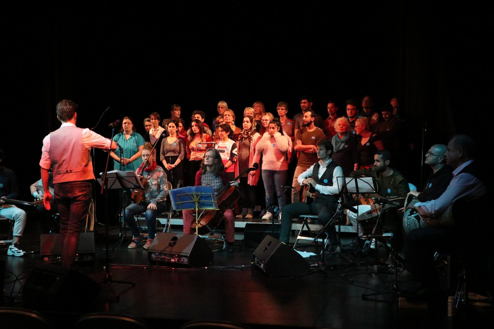 Internationale Klänge: Gemeinsam Singen und Musizieren  mit dem Berliner Begegnungschor