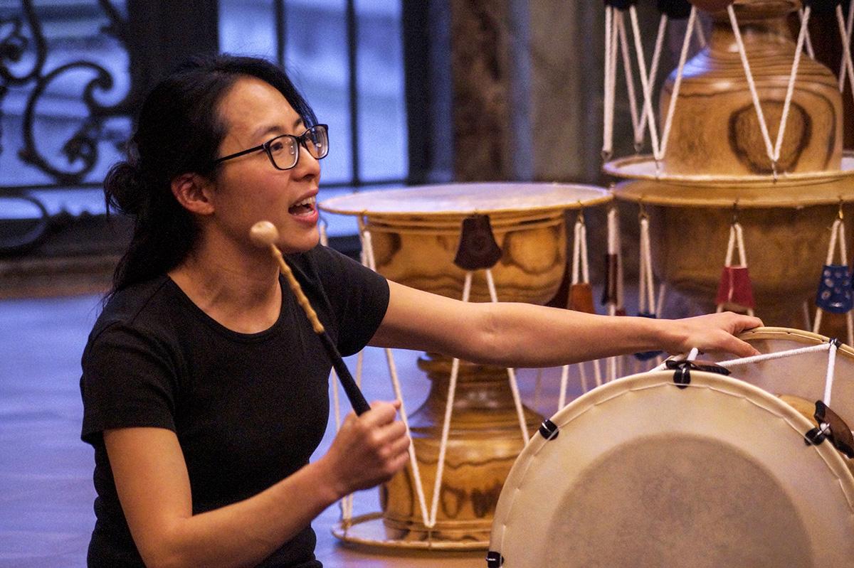 Kennenlernworkshop Koreanische Perkussion